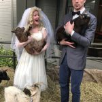 HIllbilly Wedding - LilyBeth wanted a petting zoo at the Weddin'!