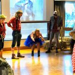 Hillbilly Wedding - Mema leads the guests in a Pig Hollarin' Contest!